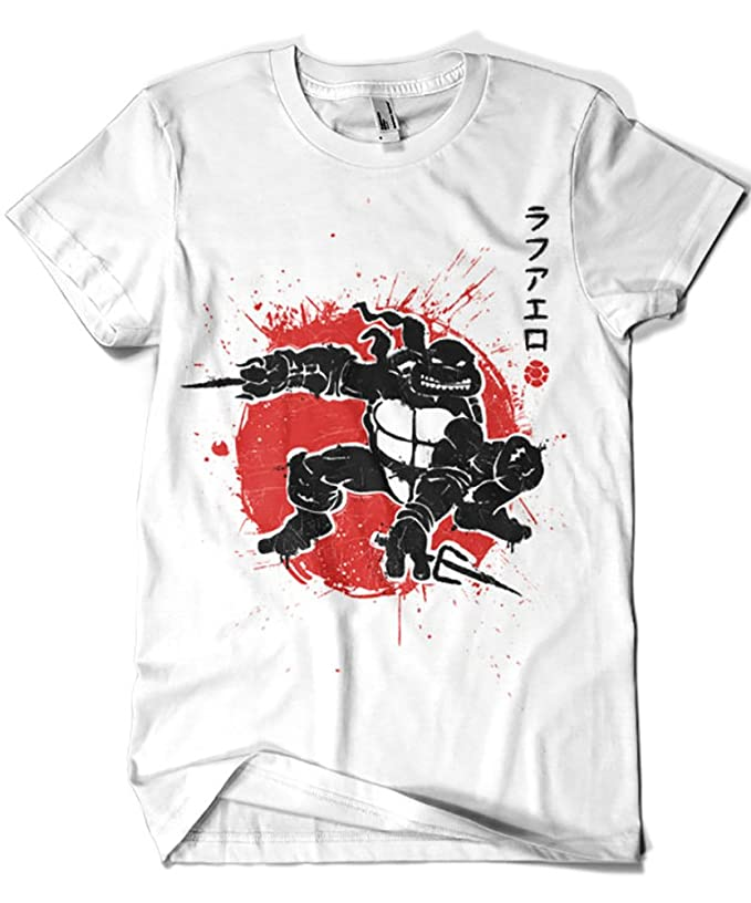 1020-Camiseta Tortugas Ninja - Sai Warrior (Olipop): Amazon ...