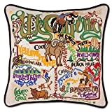 Wyoming State Pillow by Catstudio