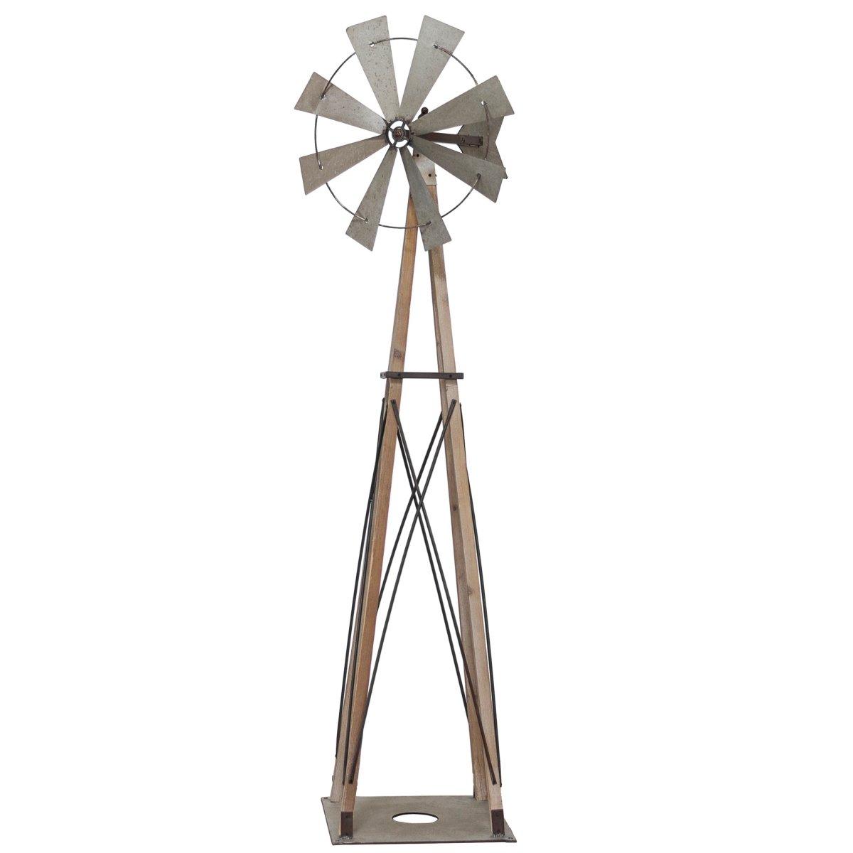 VIP International Wood Garden Windmill