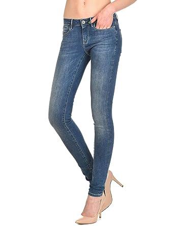 Guess Push Up Legging Skinny Damen  Amazon.de  Bekleidung 8f2e580491