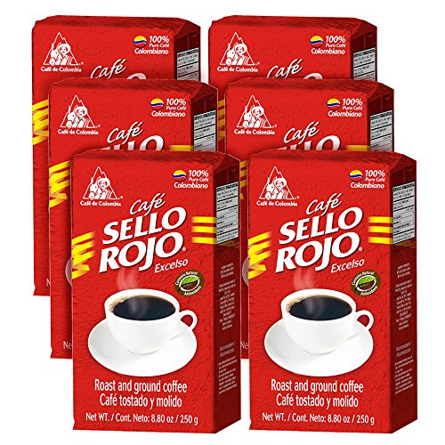 sello-rojo-roast-ground-coffee-88-ounce-brick-pack-of-6