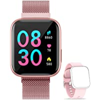 WWDOLL Smartwatch, IP67 Smart Watch with Heart Rate Sleep Monitor Pedometer ...