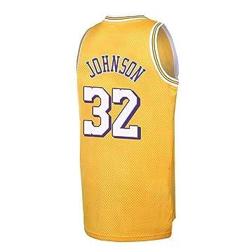 ANHPI Jersey Earvin Johnson # 32 Ropa de Baloncesto for Hombres ...