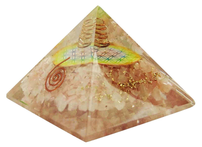 Harmonize Orgone Amethyst Pyramid Energy Generator Reiki Healing Crystal Chakra