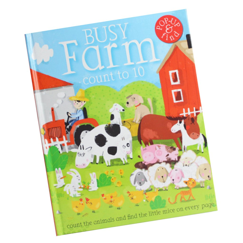 Fityle 3D Pop Up Books for Kids Boys Girls (Story Book, Baby Book, Children's Book) - A busy farm by Fityle (Image #10)