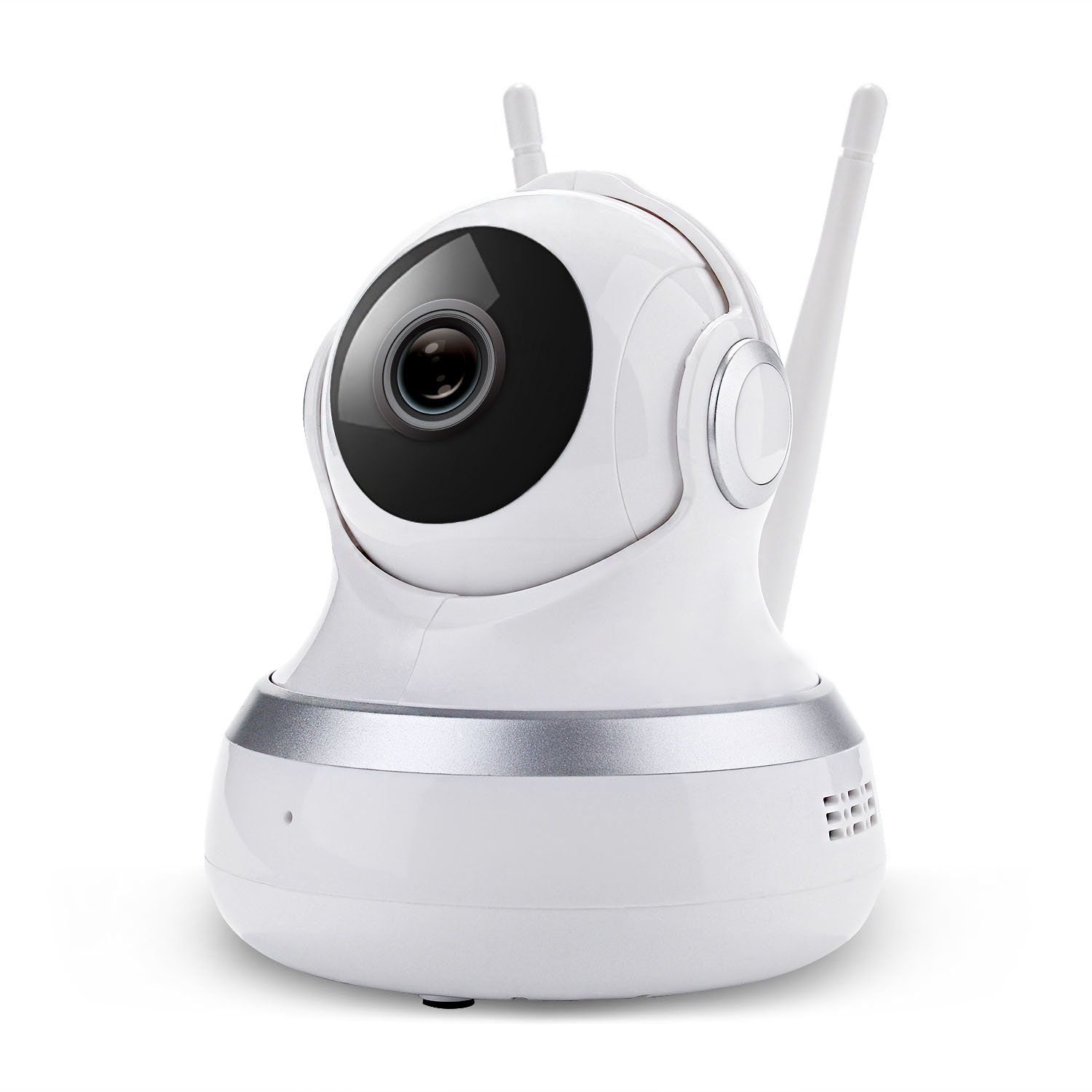 Indoor HD 1MP Wireless Security IP Camera P2P 720P H.264 Wifi Network Baby Pet Monitor - Night Vision,2-Way Audio, Micro SD Card Slot, Alarm, for PC Smartphone Android/iOS/iPhone/iPad/Tablet Keekoon