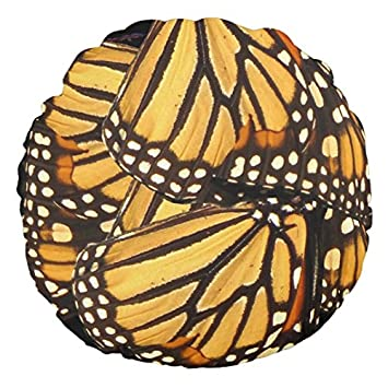 Amazon.com: Monarch Butterfly Abstract Mini Round Pillows for Chairs ...