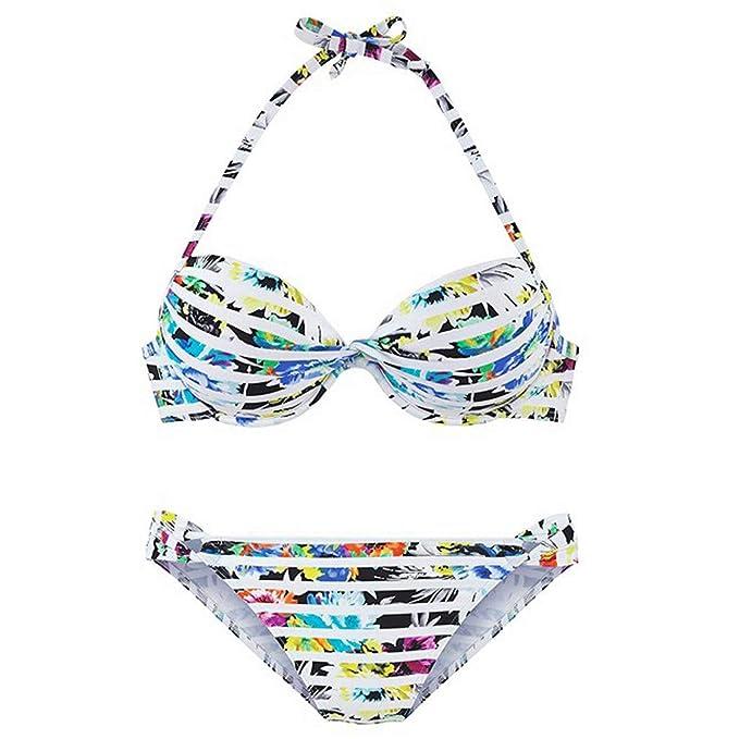 Bañadores Bikinis Bikini Push Up, Bikini de Traje de baño de ...