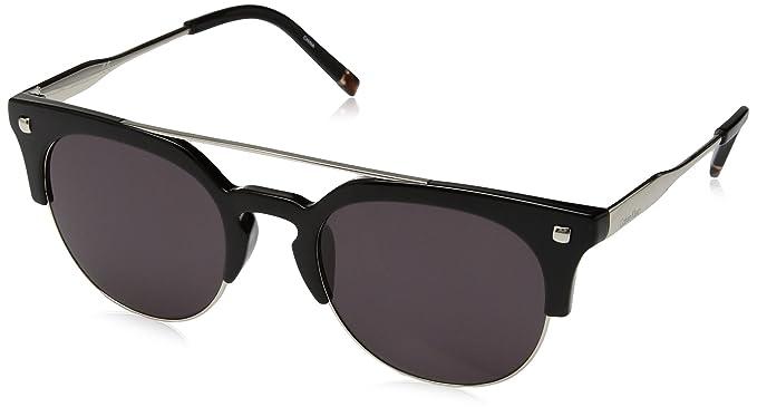 Calvin Klein CK3199S-001-52 Gafas de sol, Gris (Shiny Black ...