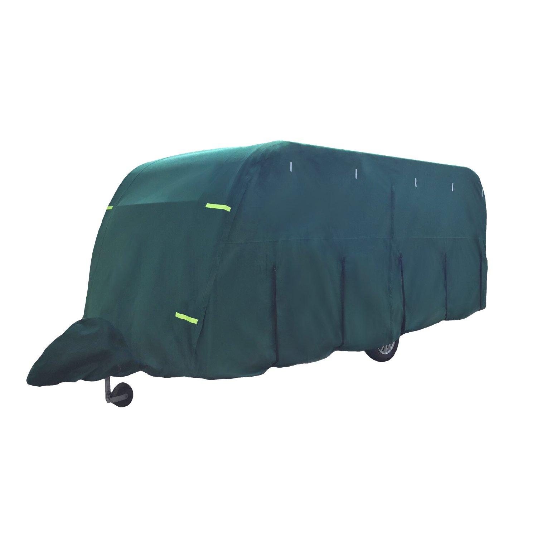 Maypole ULITMATE 5-Ply Breathable Caravan Cover Green (21-23ft)