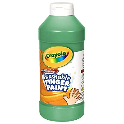 Binney & Smith Crayola(R) Washable Finger Paint, 16 Oz., Green: Toys & Games