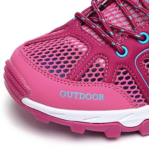 Quick Red Sneakers Aqua Women's Ultrathin2 Mesh Odema Outdoor Shoes 0 Hiking Drying Water Z40xaq