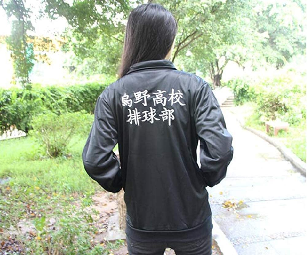 Casual Long Sleeve Sweatshirts Trousers Hinata Shouyou Zipper Tracksuit 2 pcs//Set domorebest Unisex Haikyuu!