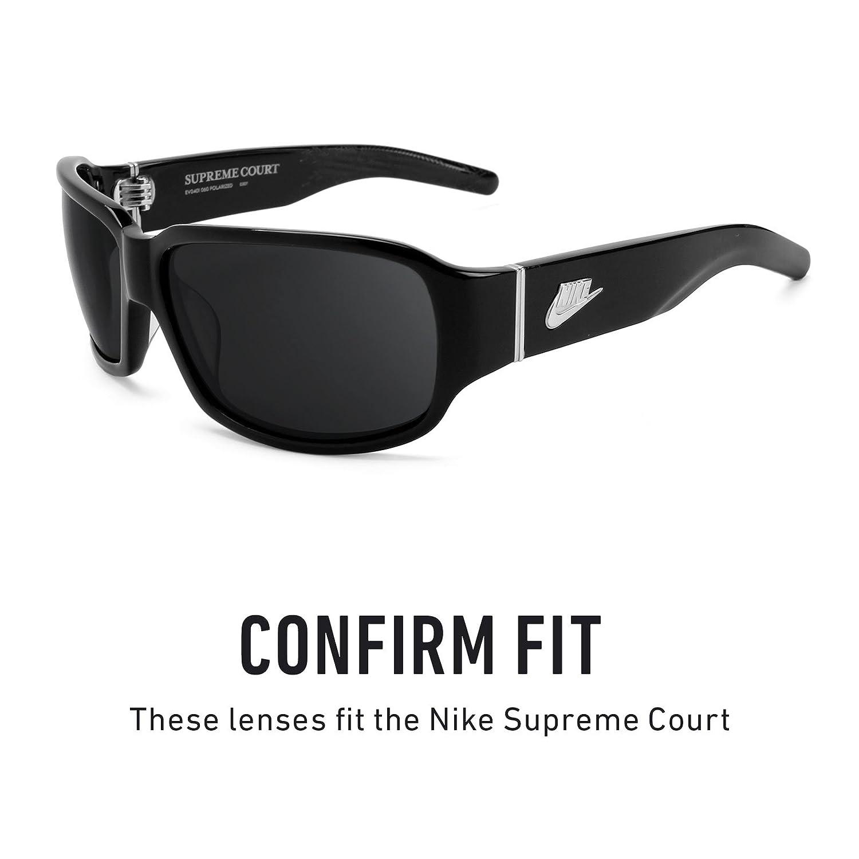 Revant Lentes polarizados para Nike Supreme Court (Azul Hielo) MirrorShield®: Amazon.es: Ropa y accesorios