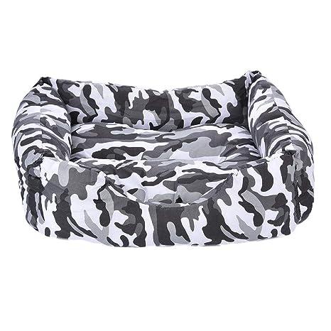 Pet Nest Bed Cave para Perros Mat Pad Cat House Camuflaje Camas para Mascotas Esteras Universal