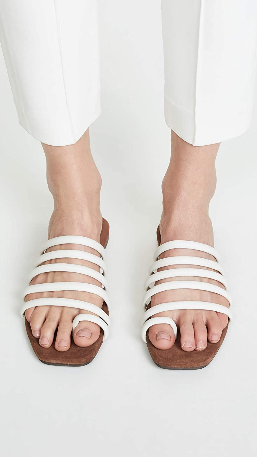 Jeffrey Campbell Womens Coniper Strappy Slides
