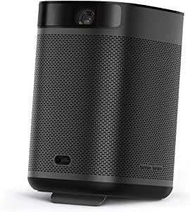 Xgimi Mogo Pro Plus Smart Portable Projector for Outdoor Movies,FHD 1080P Android TV 9.0, Auto Keystone Correction, 4K Supported(Black1)