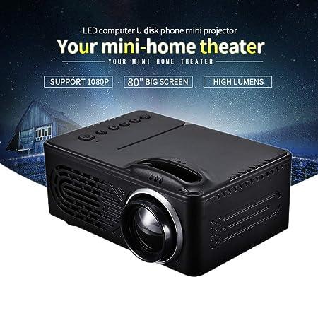 Juonjee Proyectores LED Miniatura proyector de 320 X 240 ...
