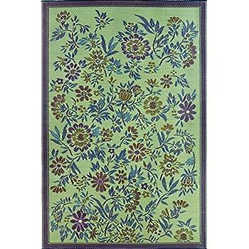Amazon.com : Mad Mats Daisy Indoor/Outdoor Floor Mat, 6\' by 9 ...