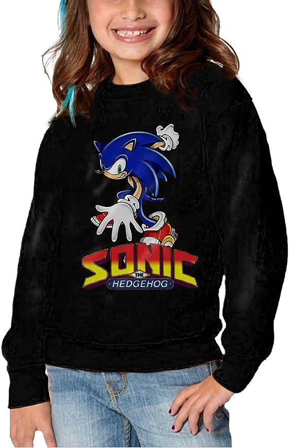 Y Tkgirls Sonic The Hedgehog Act Hoodies For Girls Kids Sweatshirt 5 6 Toddler Amazon Ca Clothing Accessories