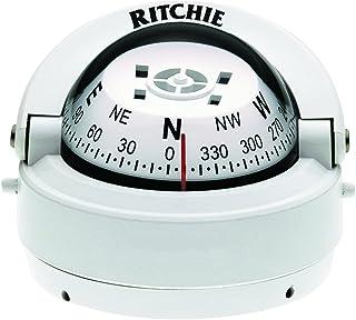 Ritchie Navigation 128-S53W Compás, Blanco, Talla Única Talla Única S-53W