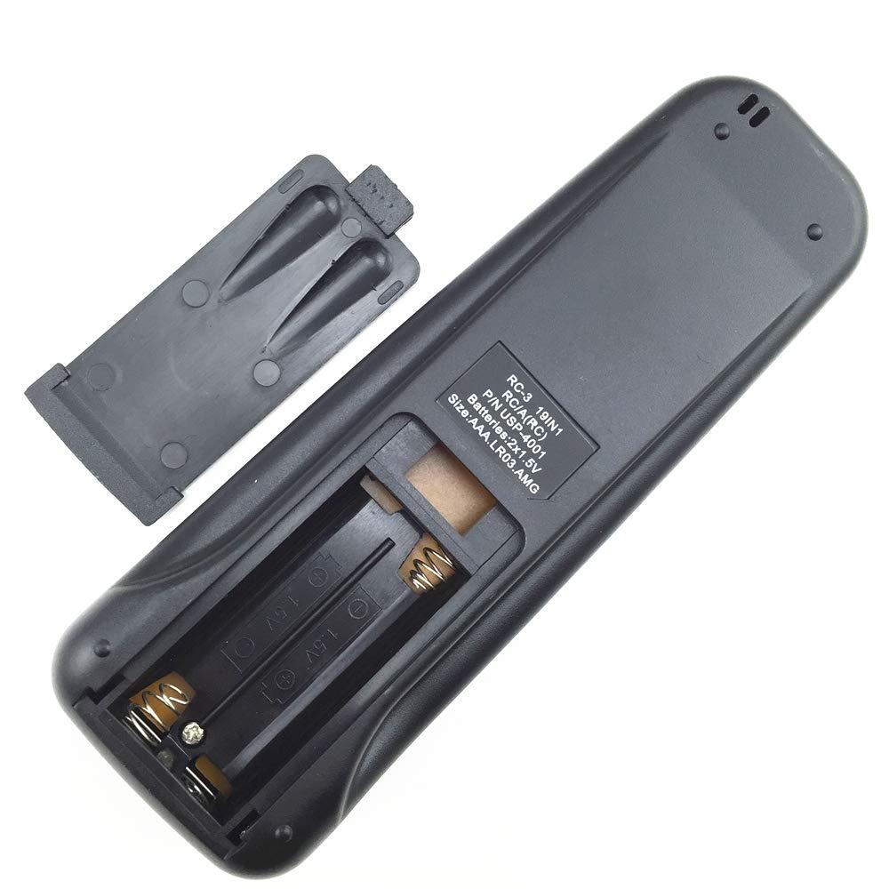 TOOGOO Telecomando Condizionatore Adatto per Electra//Airwell//Emailair//Elco Rc-41-1 Rc-5I-1 Rc-7 19In1 Rc-4I-1