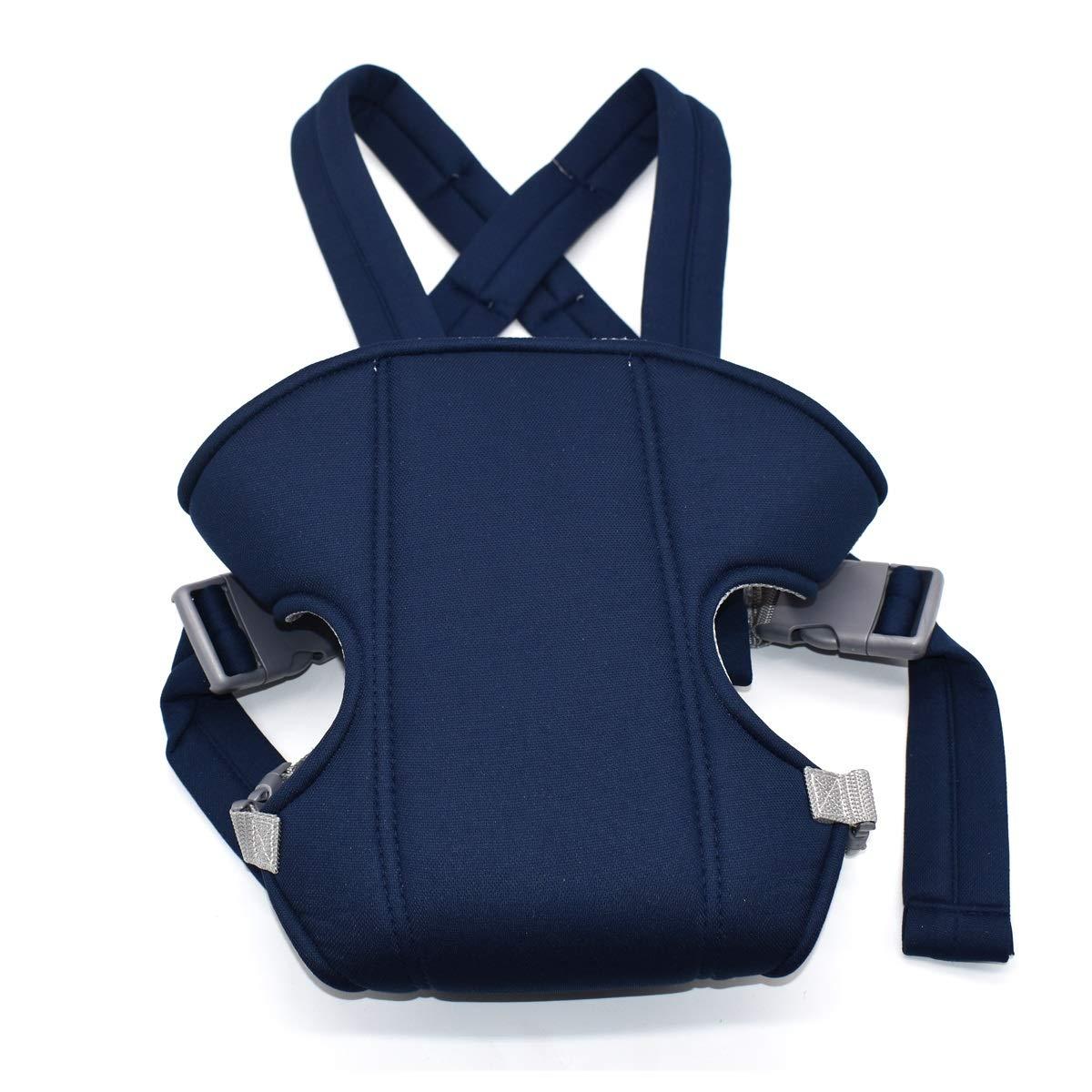 Mochila Portabeb/és Ergon/ómica,Xiuyer M/últiples Posiciones Baby Carrier Ajustable Porta Beb/é para Reci/én Nacidos y Beb/és Azul Oscuro, 3.5-15 kg