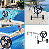 VINGLI Pool Cover Reel Set 18 FT Solar Cover Reel