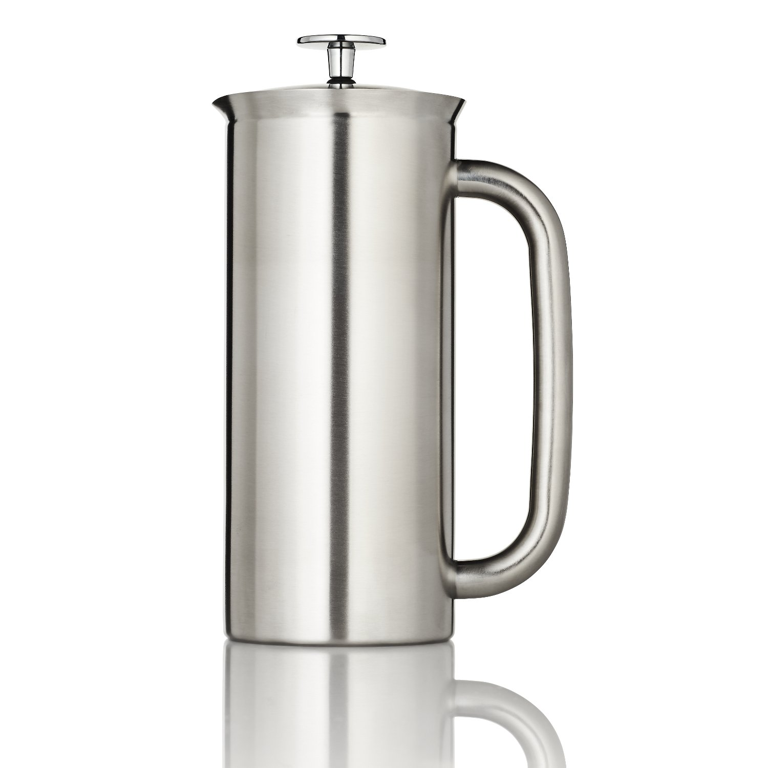 Espro 1132C2-FFP P7 Coffee French Press, 32 Ounce, Brushed Stainless Steel by Espro (Image #2)