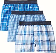 Hanes Boys 3 Pack Ultimate Yarn Dyed Boxer