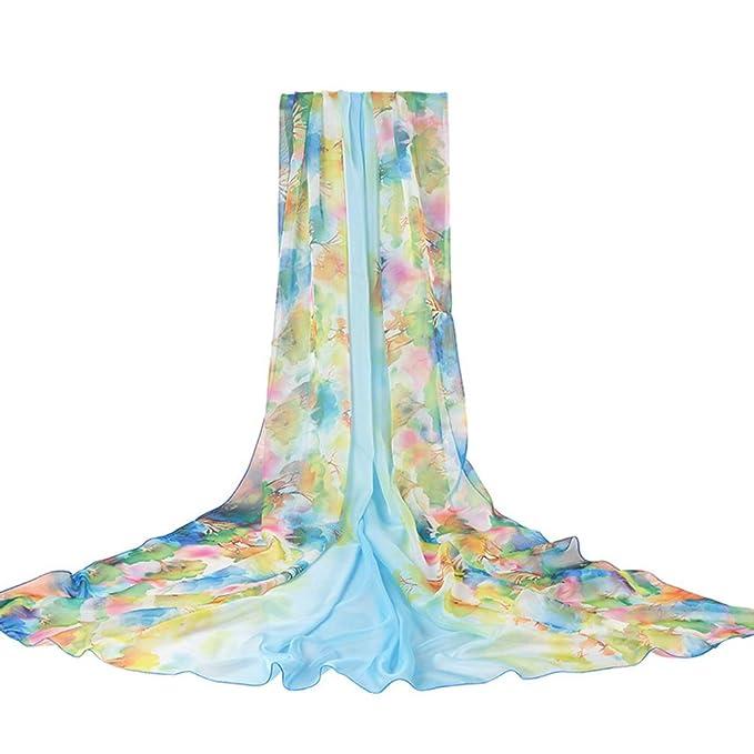 Sweet costume las señoras bufanda de seda Protector solar doble uso toalla de playa wild cabo larga primavera-A un tamaño: Amazon.es: Ropa y accesorios