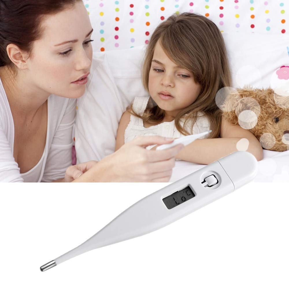 1 Pcs LCD Digital Thermometer Underarm Temperature Measuring Tools Safety Adult Baby Fever Temperature Meter Healthy Care