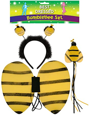NUOVO Bambini Bumblebee Fata HEAD Bopper