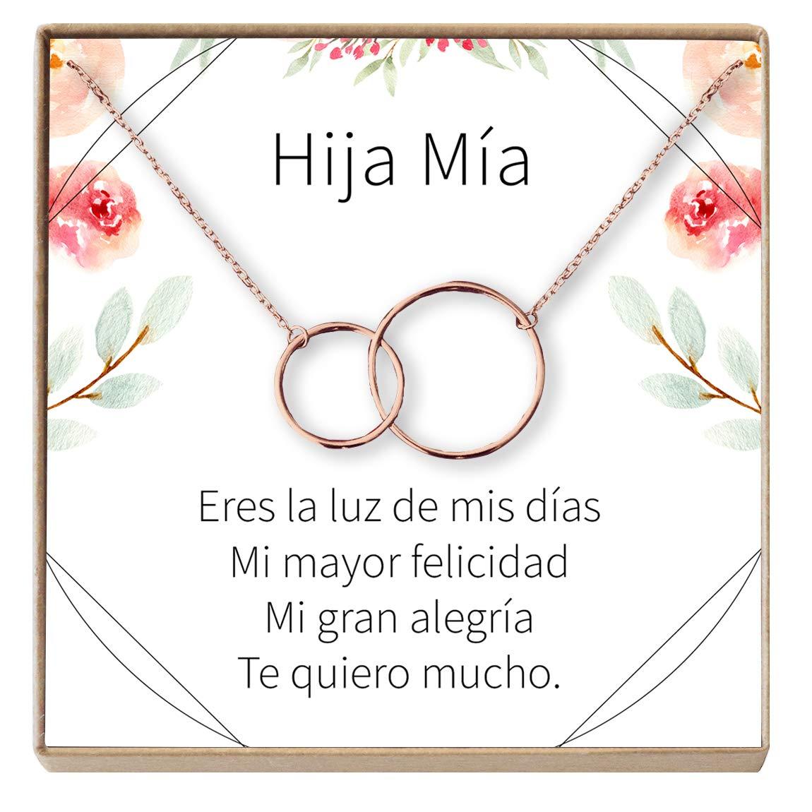 Amazon.com: Dear Ava Collar Regalo para Hija, Regalo para ...