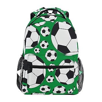 Mochila de balón de fútbol para la Escuela, Mochila de Viaje para ...