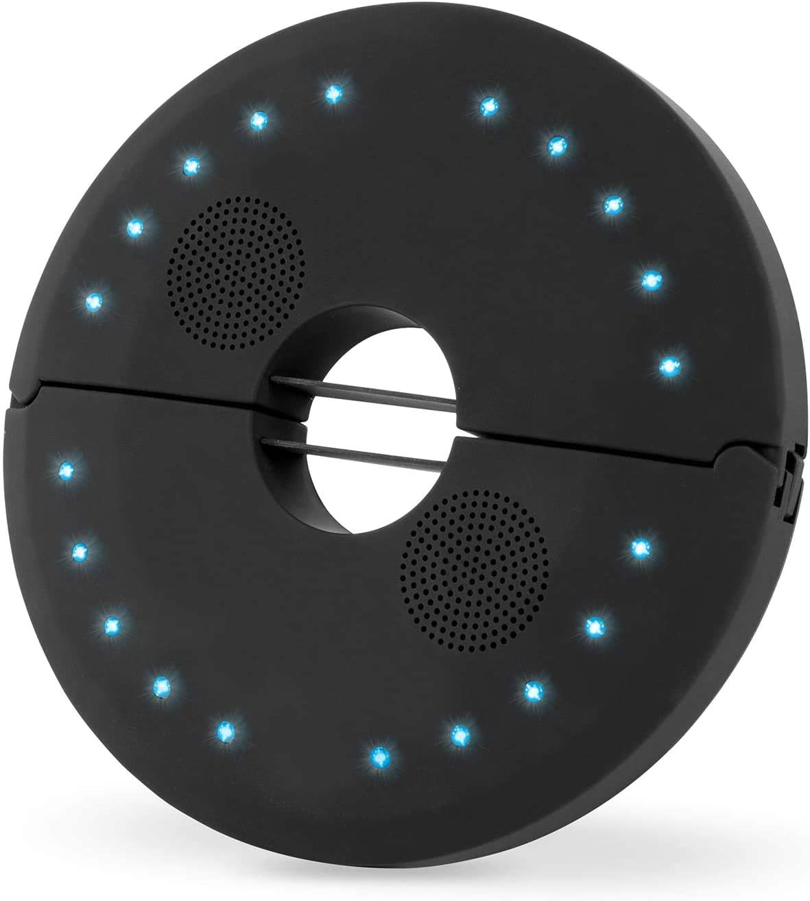 - Black 20 LED Outdoor Waterproof Umbrella Light Wireless Speaker Perfect for Garden//Camping//Tent uuffoo Patio Umbrella Lamp Speaker 5volts USB Charging 4 Lighting Modes