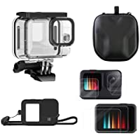 MOUNTDOG 5-in-1 Action Camera Accessories for Gopro Hero 9 Black with Waterproof Case, 2 Sets Screen Protectors…