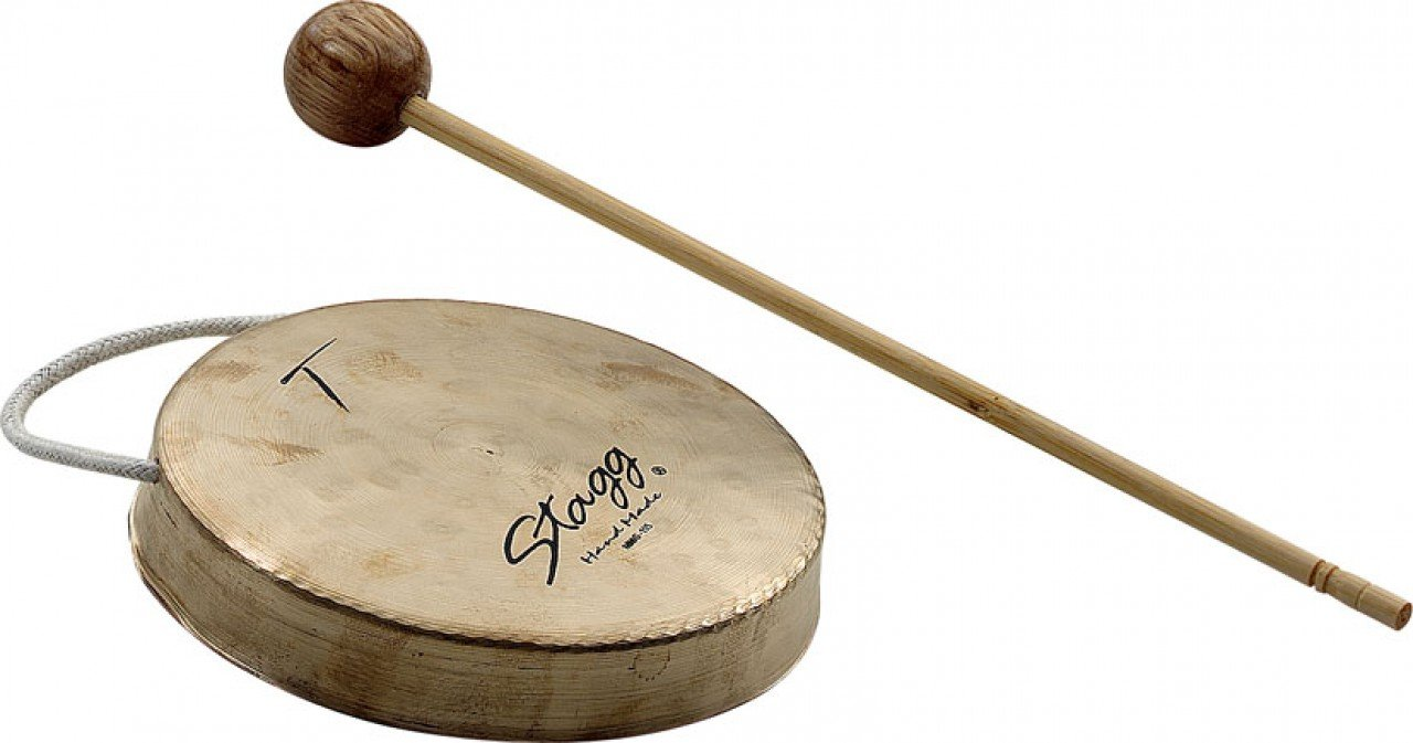Stagg MMG-115 4.5-Inch Mini Moon Gong