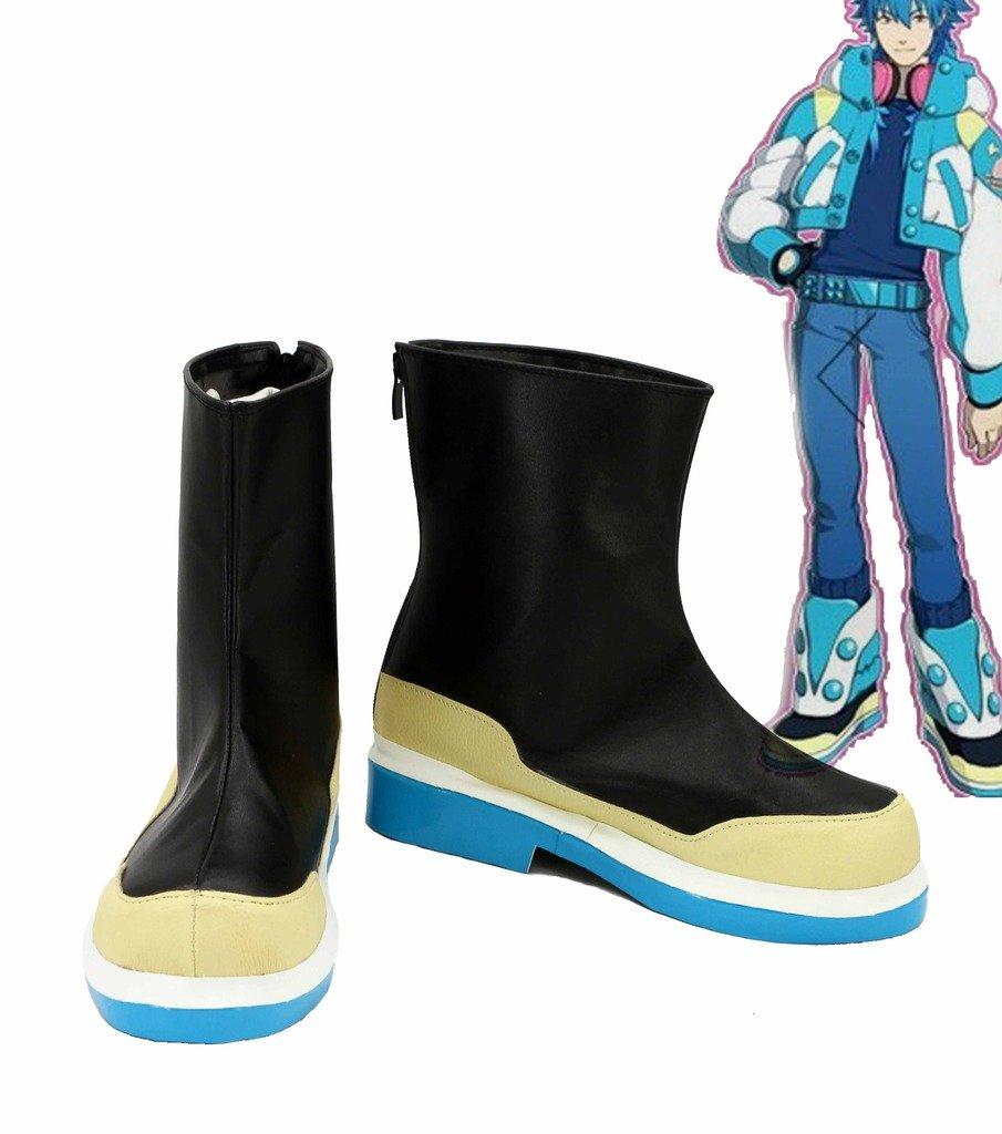 Dramatical Murder DMMD Seragaki Aoba Cosplay Shoes Boots Custom Made 9.5 D(M) US Male