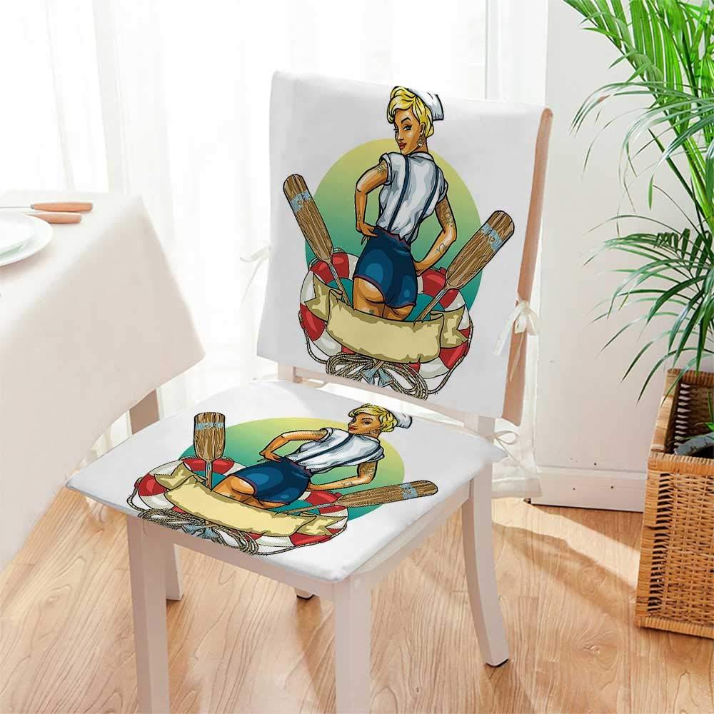 Amazon.com: Mikihome - Cojín de asiento sentado en la parte ...