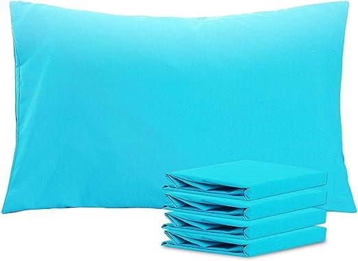 NTBAY Queen Pillowcases Set of 4 100/% Brushed Microfiber Resistant Queen Orange