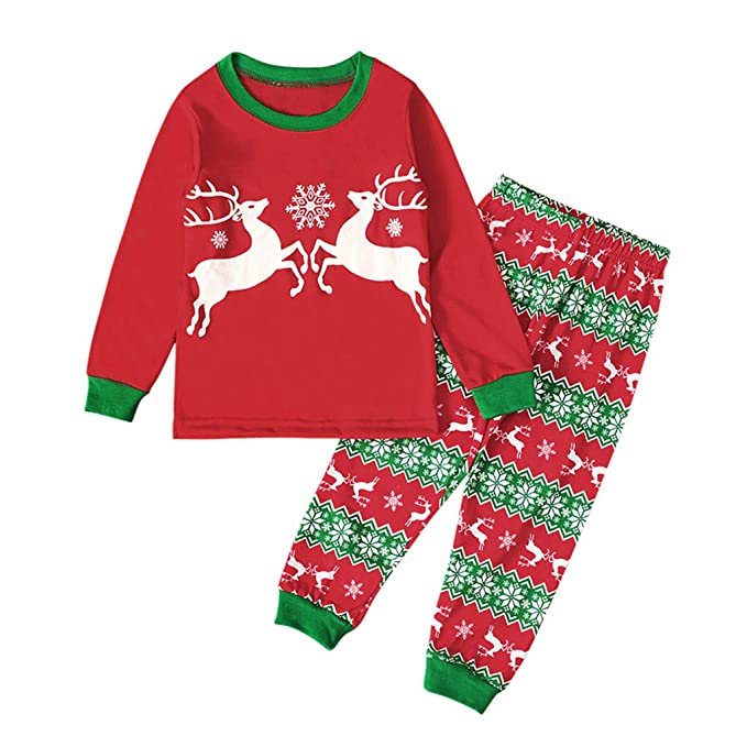 2-7 AñOs Niños Niña Bebés Ropa OtoñO Invierno Manga Larga Navidad ...