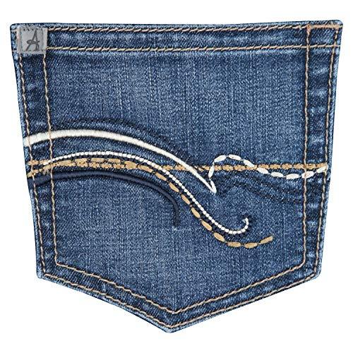 Bl Mujer Vaqueros Para Wrangler Aura Pantalones Wash x8TqcXO