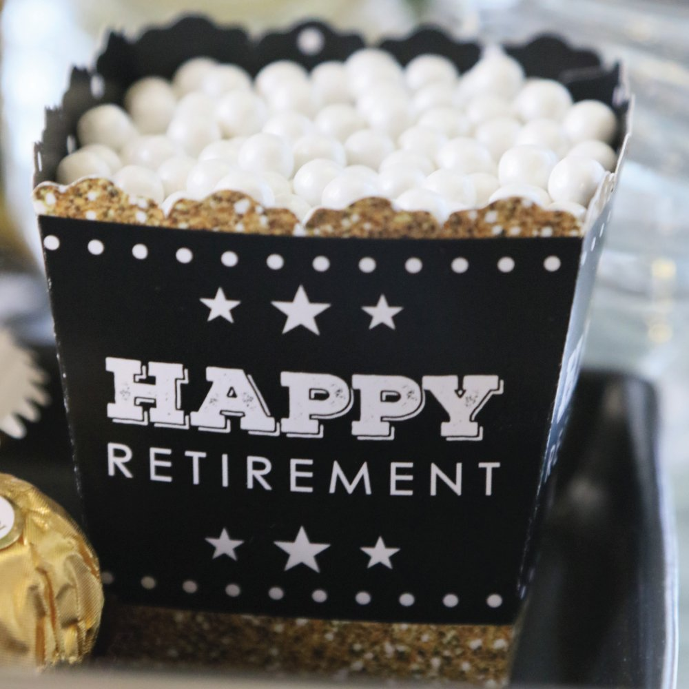Big Dot of Happiness Happy Retirement - Party Mini Favor Boxes - Retirement Party Treat Candy Boxes - Set of 12 by Big Dot of Happiness (Image #5)