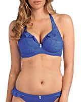 Freya Women's Cherish Underwire Halter Bra Bikini Top (D+ Cup)