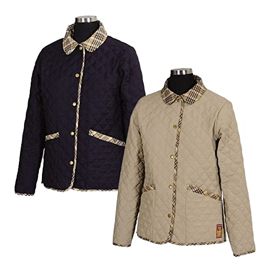 08320fd1e Baker by Equine Couture Women's Country Quilted Jacket