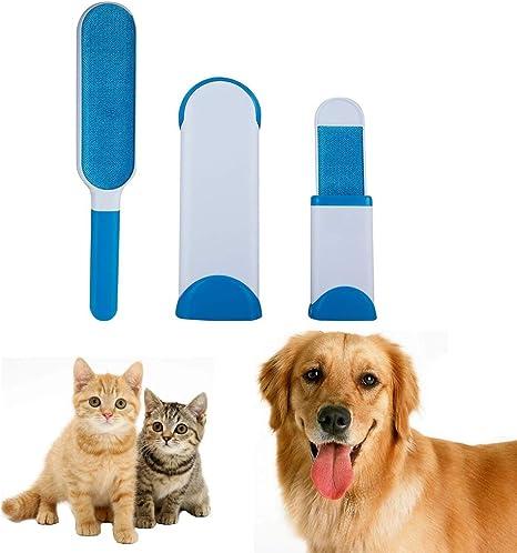 Cepillo Pelo de Animales, Reutilizable Mascota Fur Remover con ...