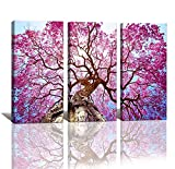 Image of yixuanwall art-canvas Prints,kx00888 Purple tree Wall Art oil Paintings Printed Pictures Stretched for Home Decoration