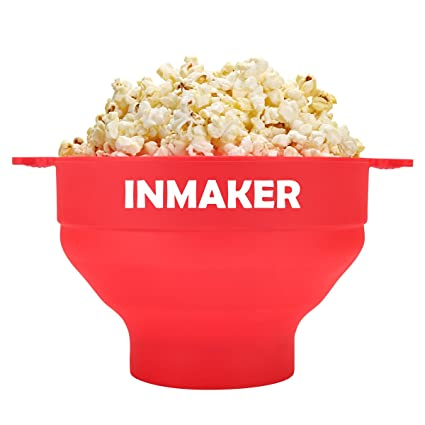 Amazon com: INMAKER Microwave Popcorn Popper with E-recipe