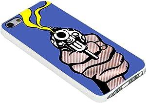 Roy Lichtenstein Gun in America for Iphone Case (iPhone 6 plus white)